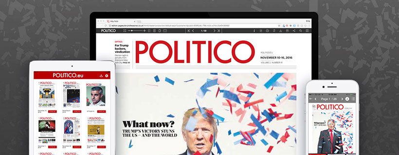 PageSuite Collaborate with POLITICO