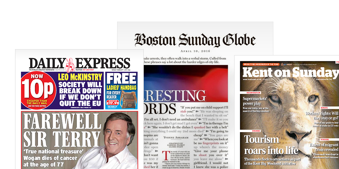 A PageSuite Newspapers Example