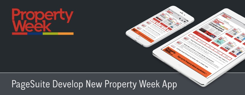 PageSuite Develop New Property Week App