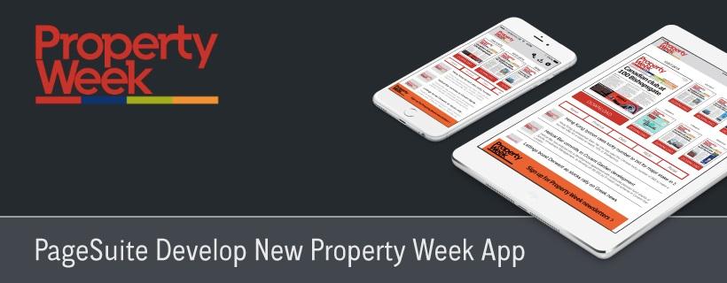 PageSuite Develop New Property Week App
