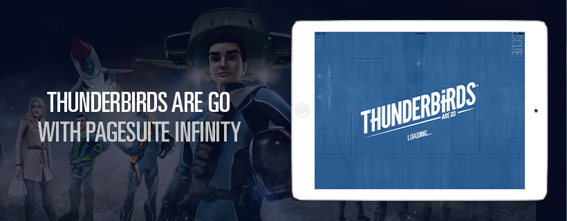 Thunderbirds Are Go With a New PageSuite Infinity App!