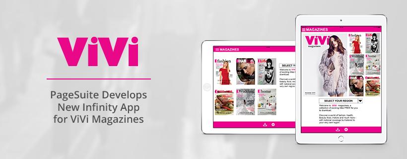 PageSuite Launch New App for Vivi Magazines