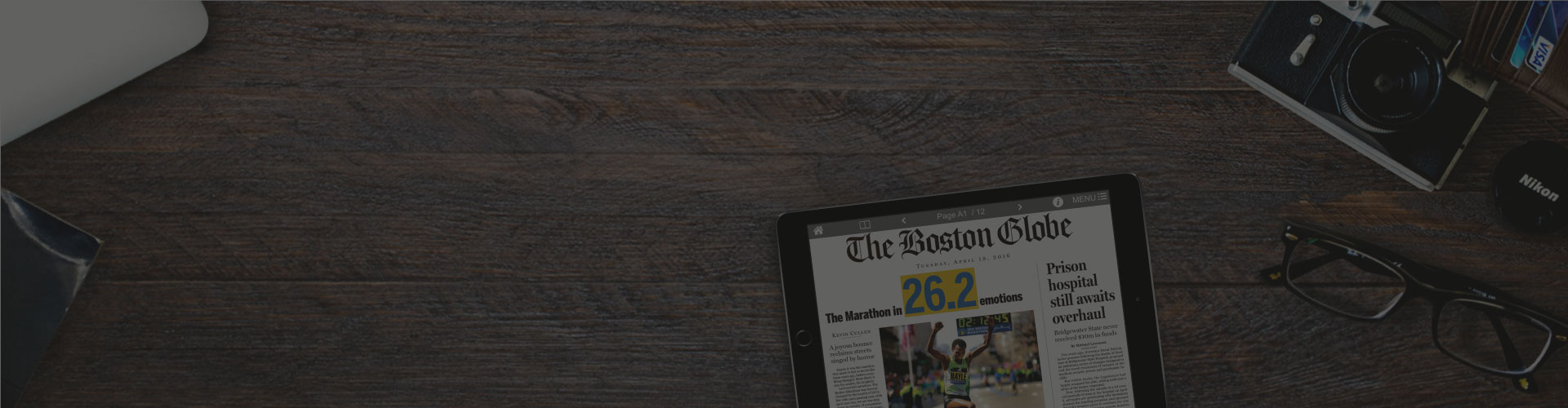 Header image of The Boston Globe