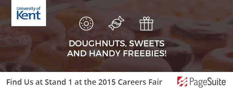 Meet PageSuite at University of Kent's Careers Fair 2015