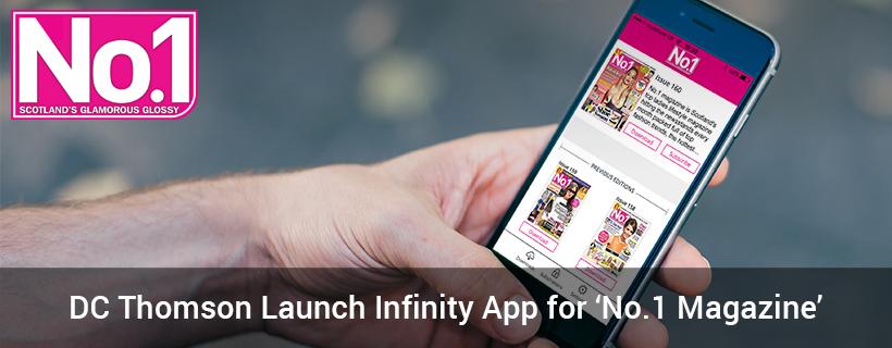 DC Thomson Launch Infinity App for 'No.1 Magazine'