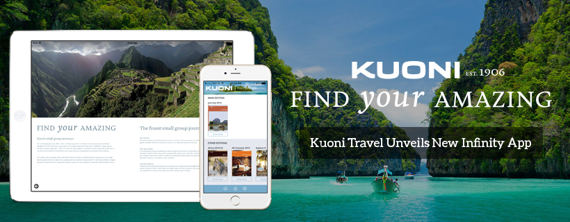 Kuoni Travel Unveils New PageSuite Infinity App