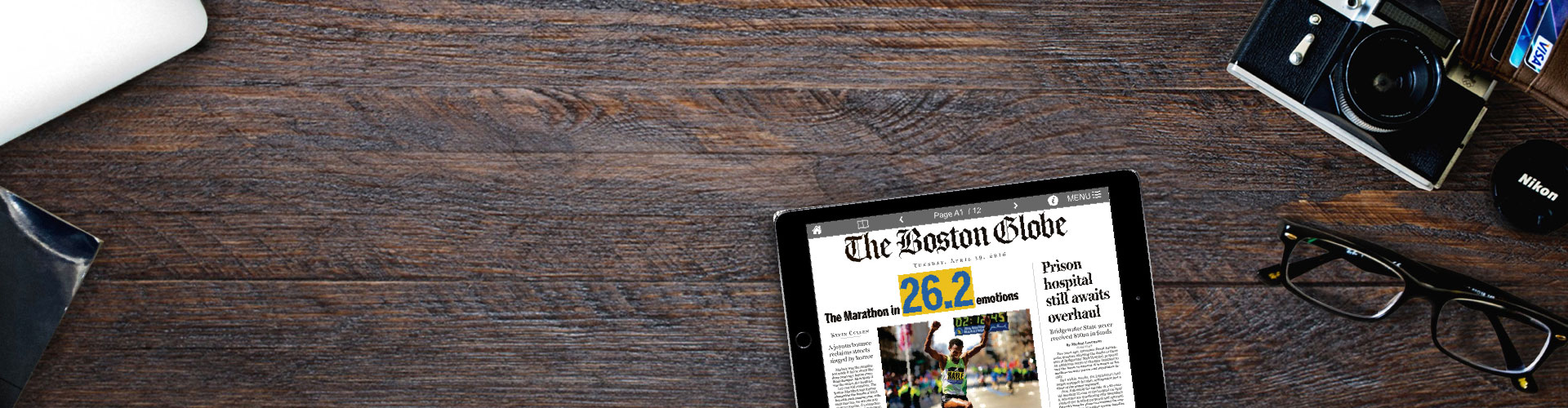 Header image of PageSuite Join Forces with The Boston Globe