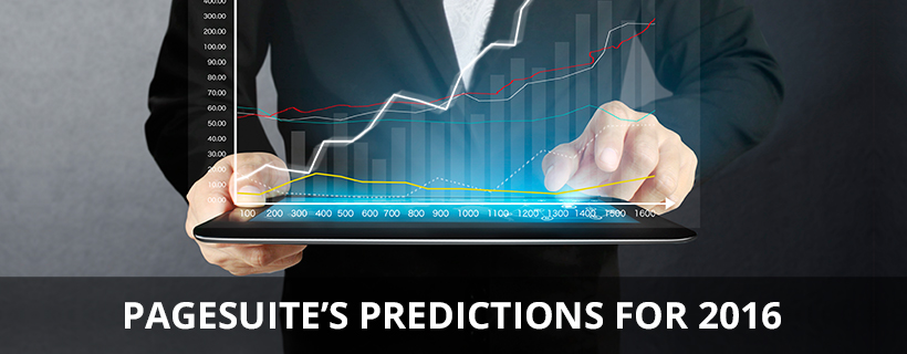 PageSuite's Predictions for 2016