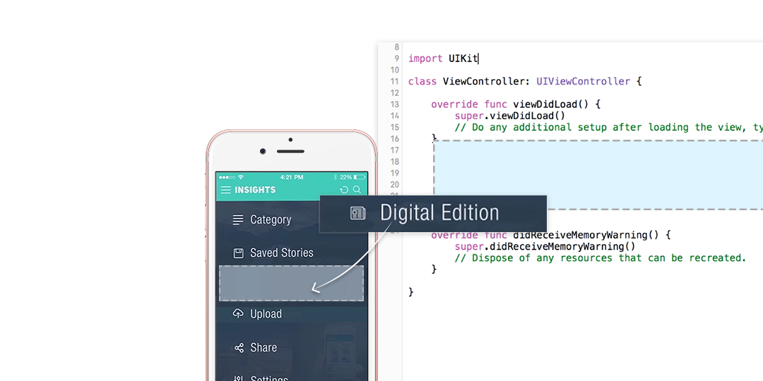 A PageSuite Digital Edition SDK Example