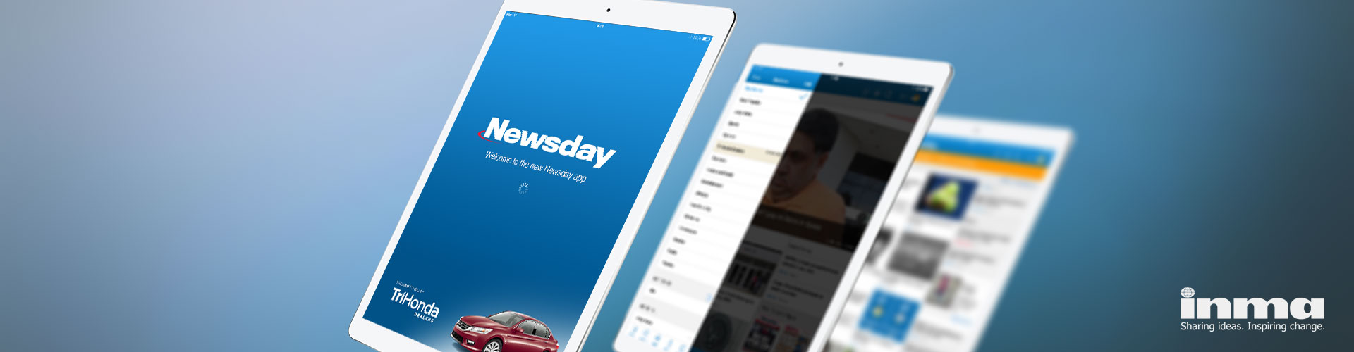 Newsday Wins INMA Global Media Award for 'Best Use of Mobile'