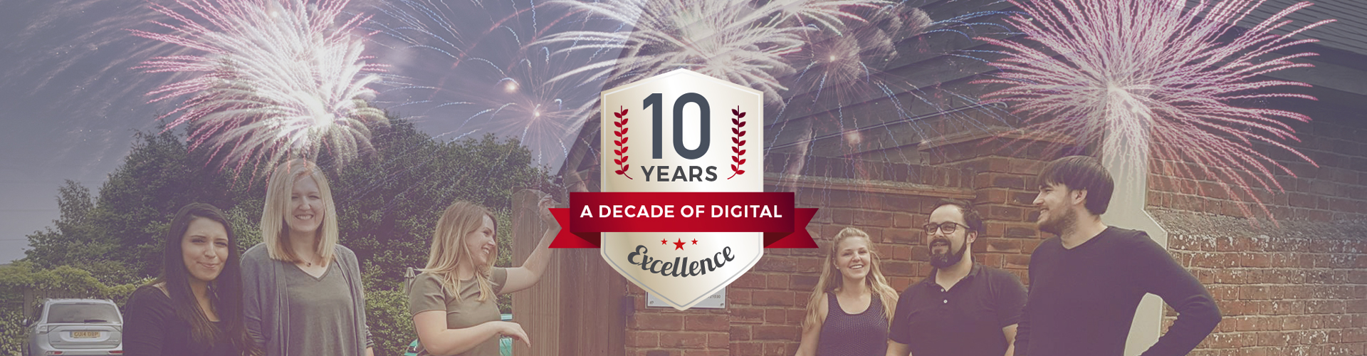 Header image of PageSuite Celebrate 10 Years in Business