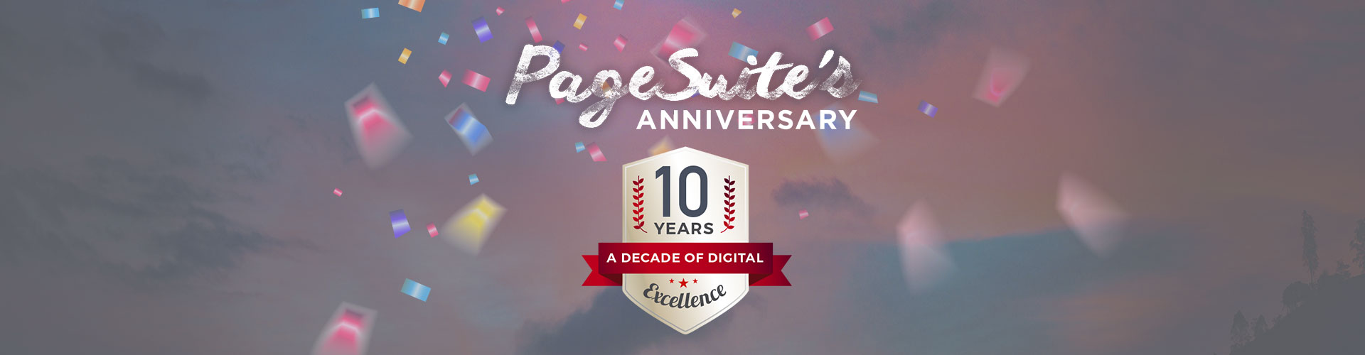 Header image of PageSuite Turns 10!