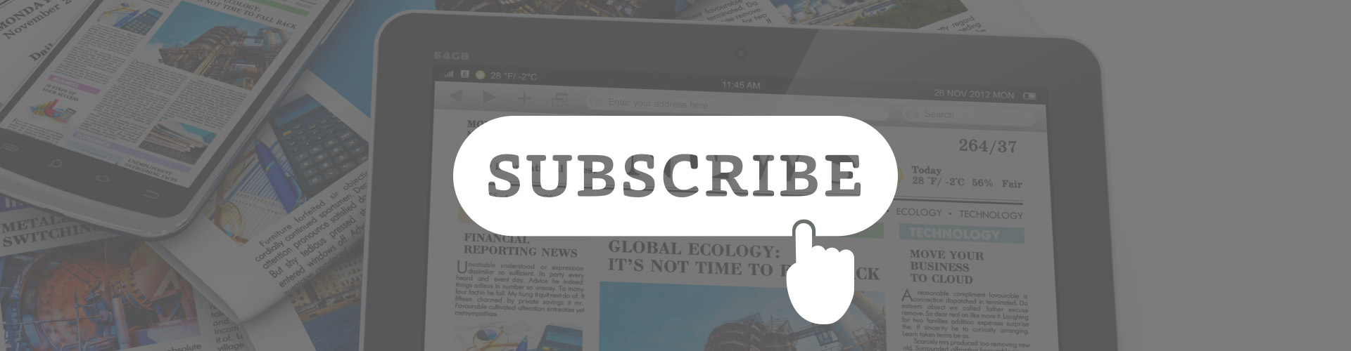 Header image of Industry Spotlight – Shift in Subscription Strategies