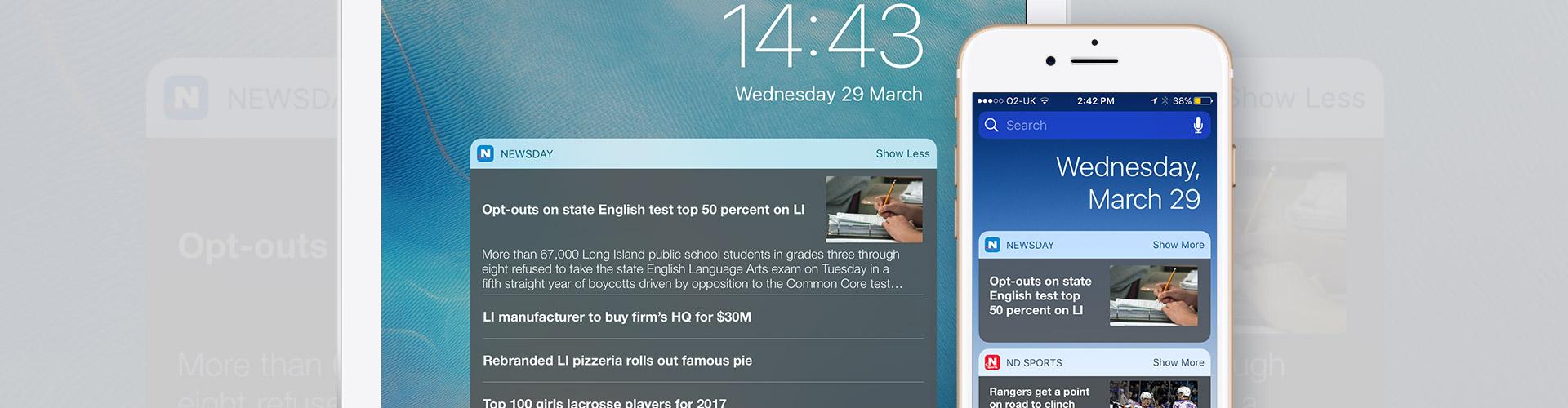 New Feature: Lock Screen Widgets