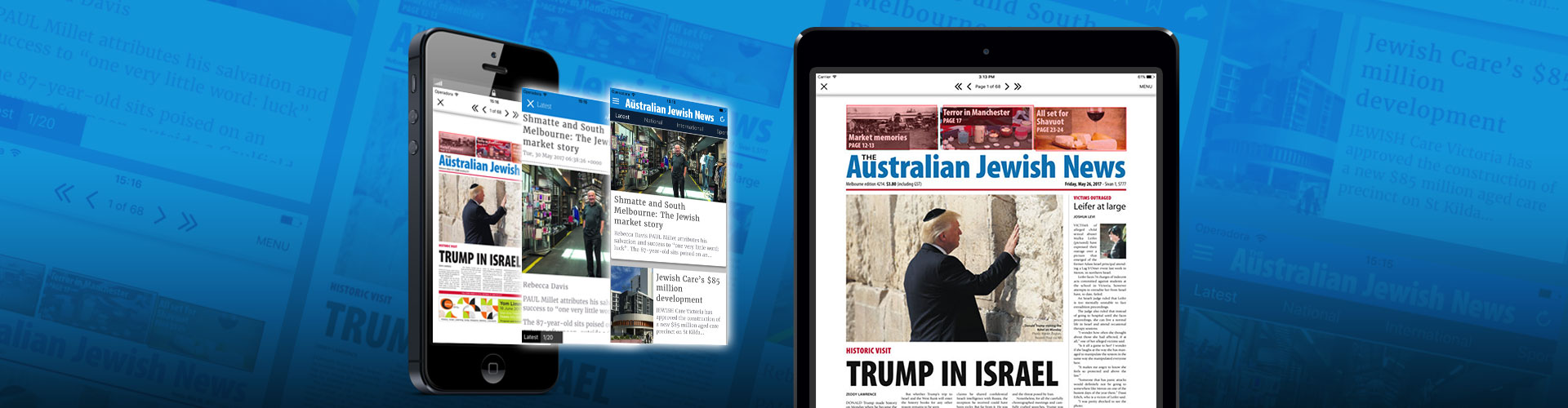 Header image of New Digital Solutions for Australian Jewish News