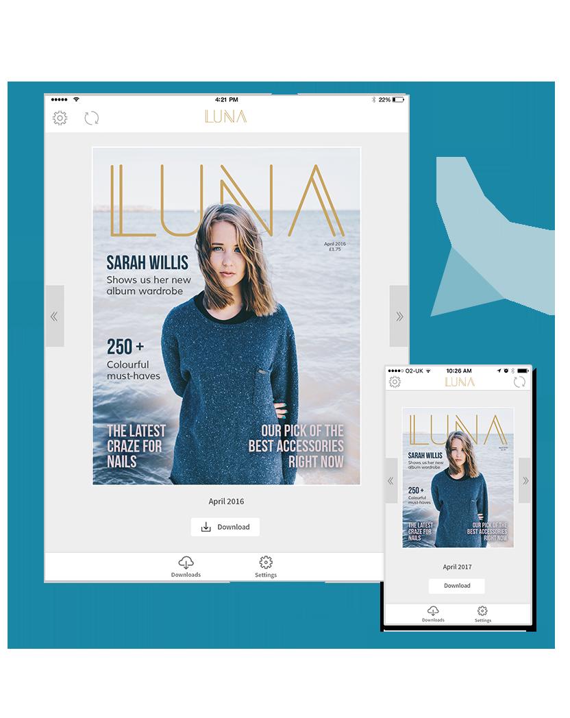 Luna PDF Template
