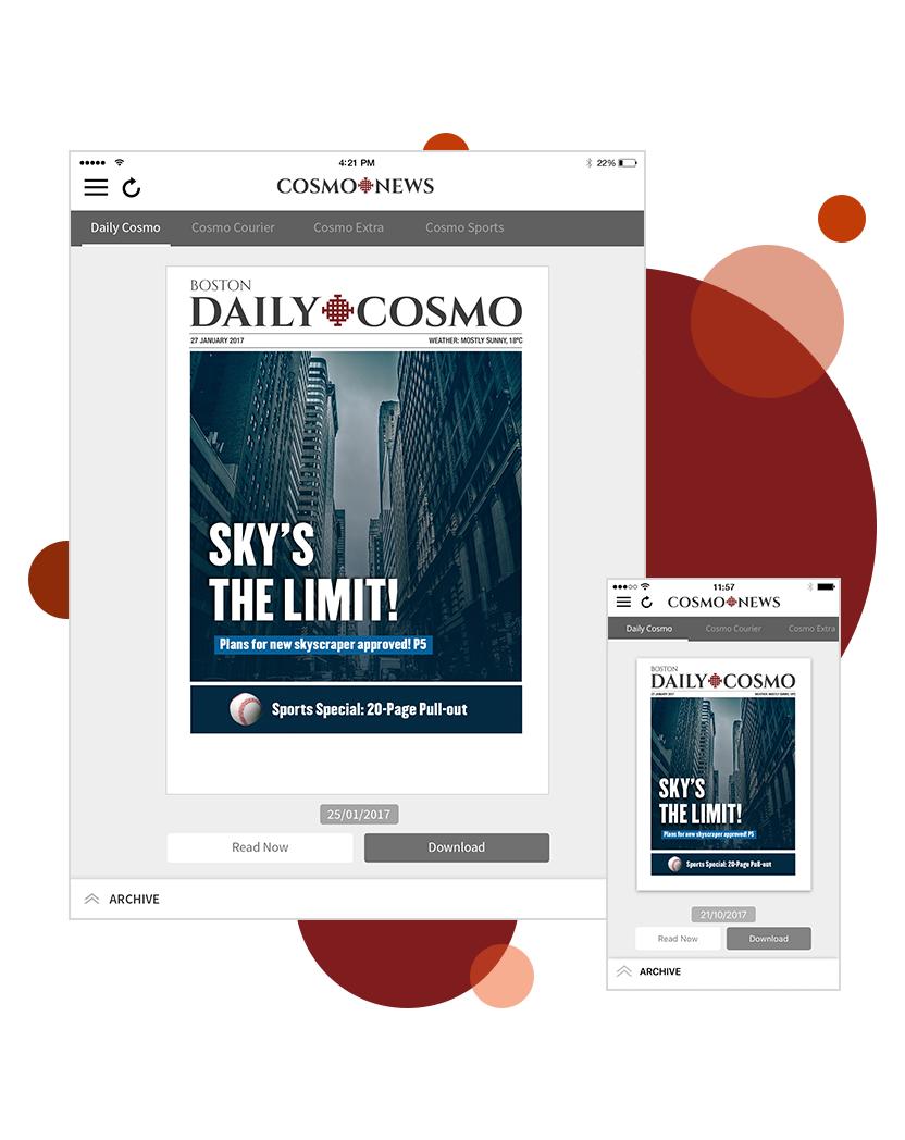 Cosmo PDF Template