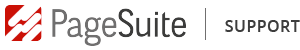 Pagesuite support logo