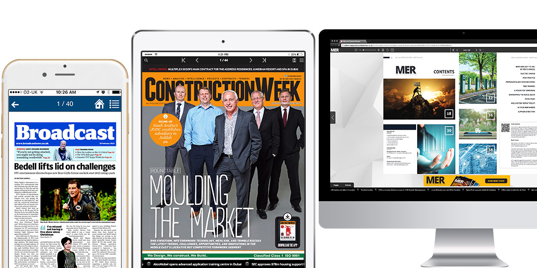 A PageSuite B2B Magazines Example