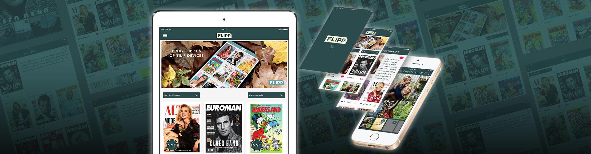 PageSuite Develop Kiosk App Solution for Egmont Publishing's FLIPP Solution
