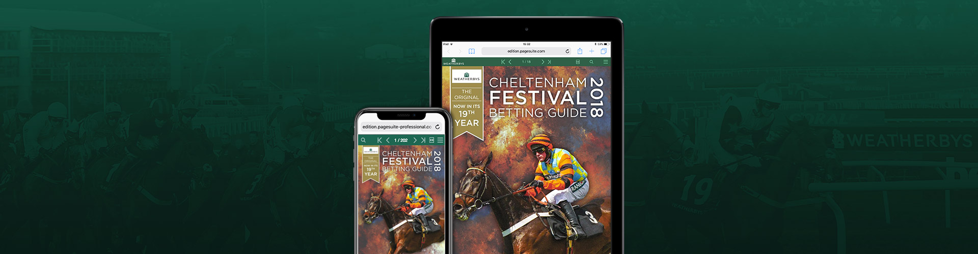 Header image of Weatherbys Launch Special Cheltenham Festival Edition