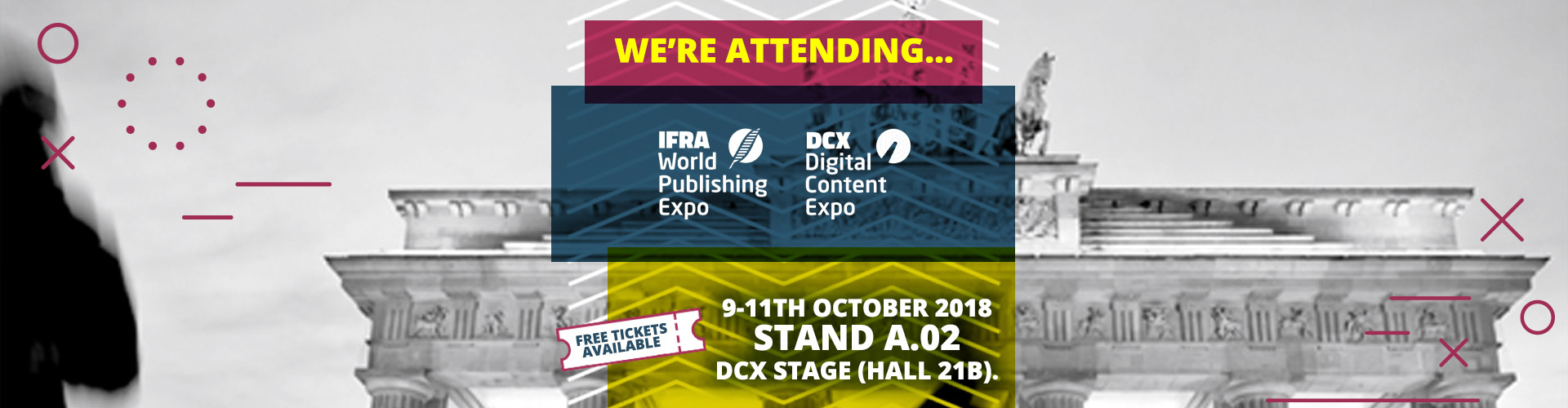 Image of Join PageSuite in Berlin for The World Publishing & DCX Expo!