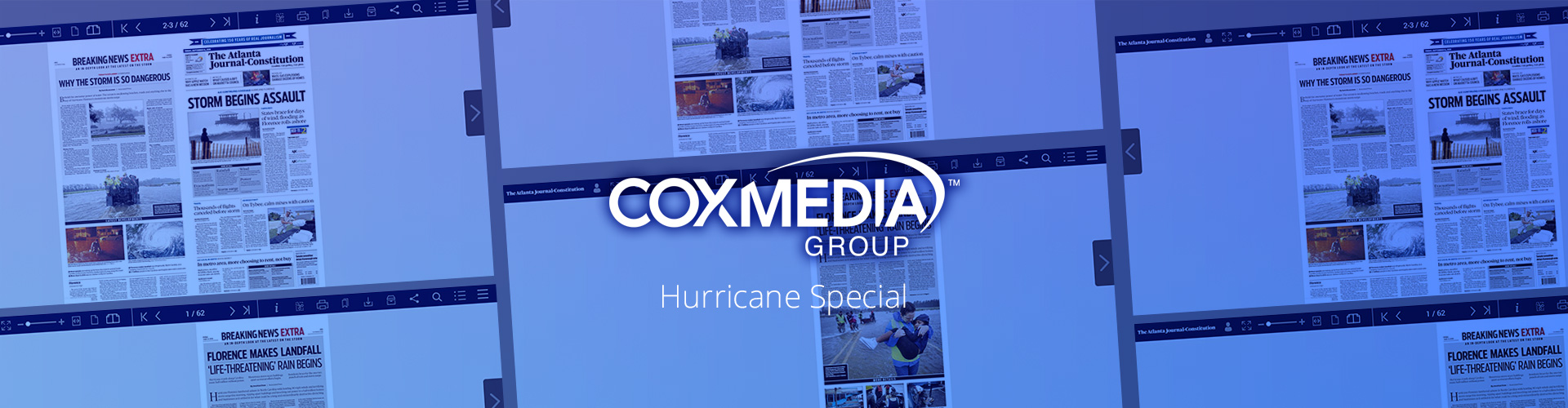 Cox Media Group Cover Hurricane Florence