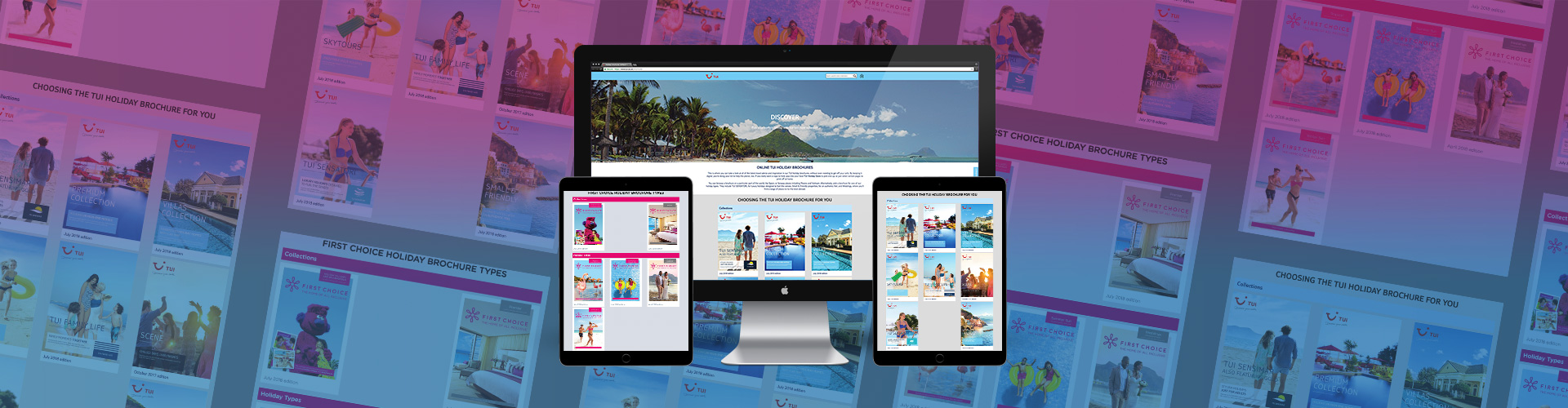 Header image of New Digital Brochures & Custom Landing Pages for TUI
