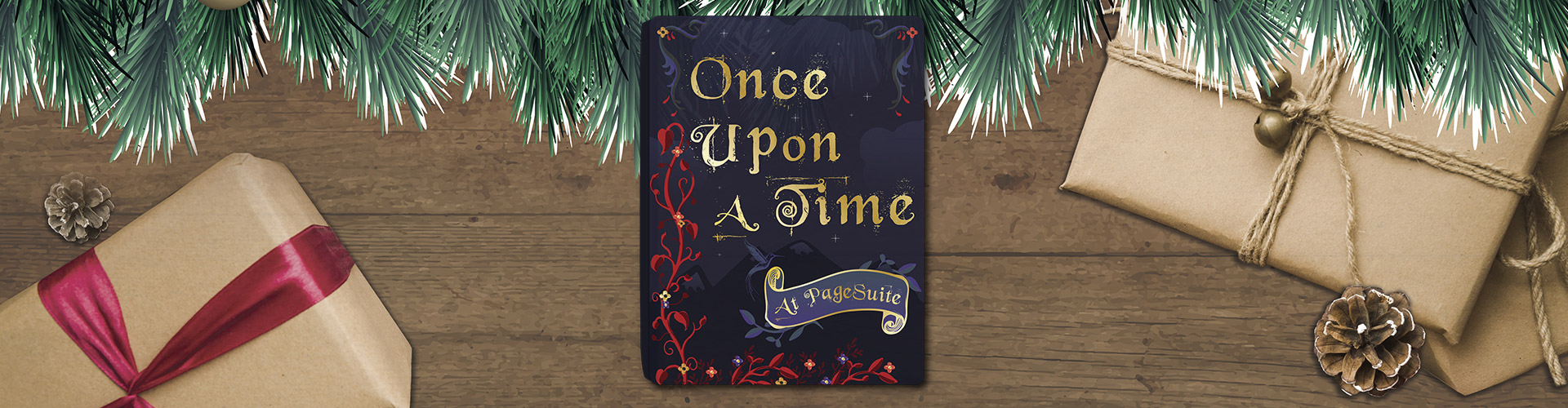 Header image of Once Upon a Time at PageSuite – Christmas Video