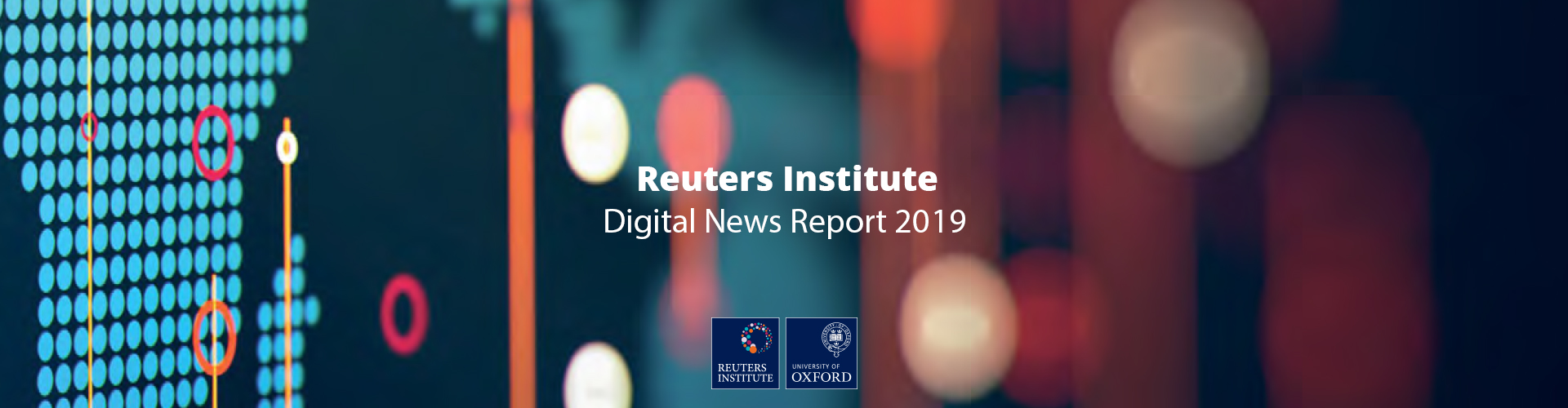 Header image of Key Takeaways from Reuters Digital News Report 2019