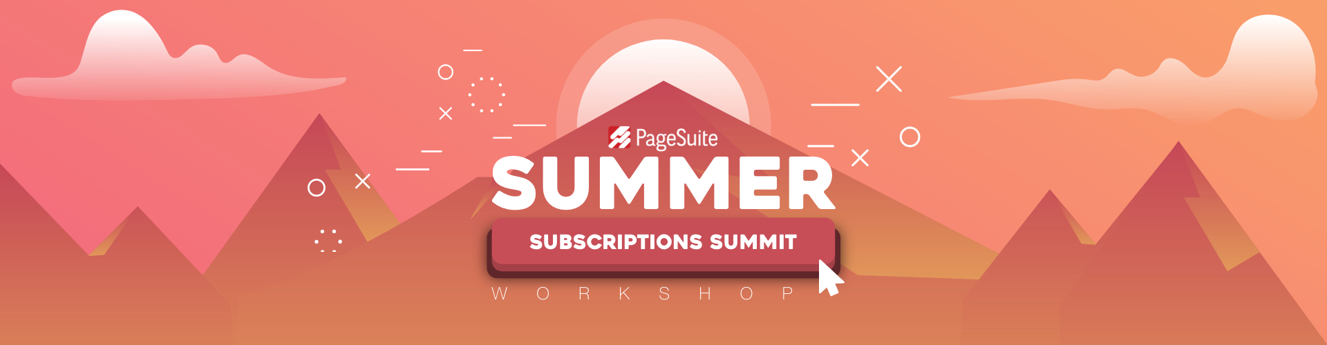 Header image of PageSuite's Summer Subscriptions Summit