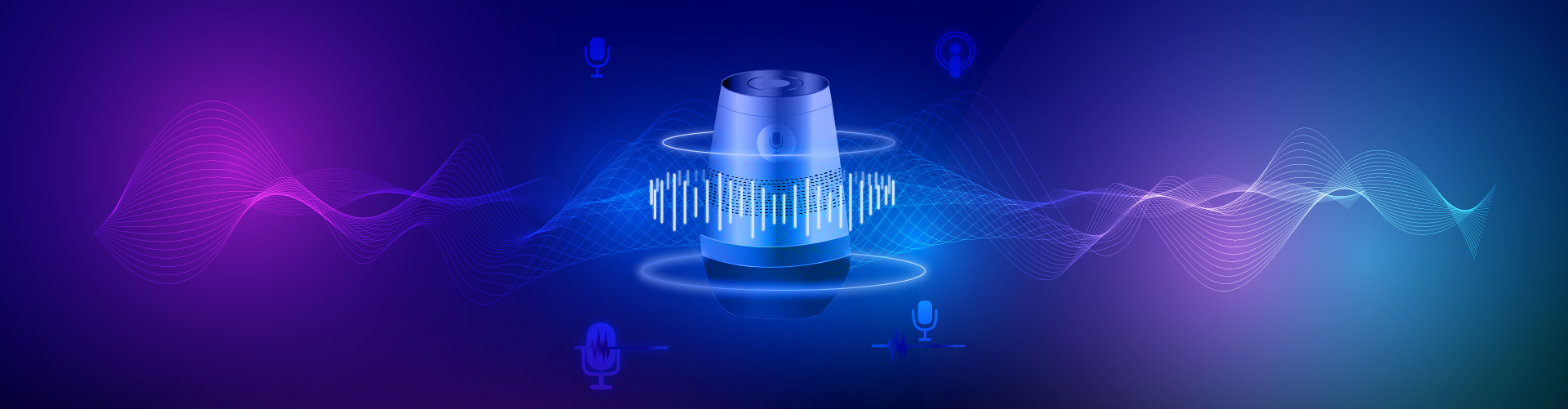 Header image of Smart Speakers, Podcasts and Text-to-Speech – How Are Publishers Implementing Audio?