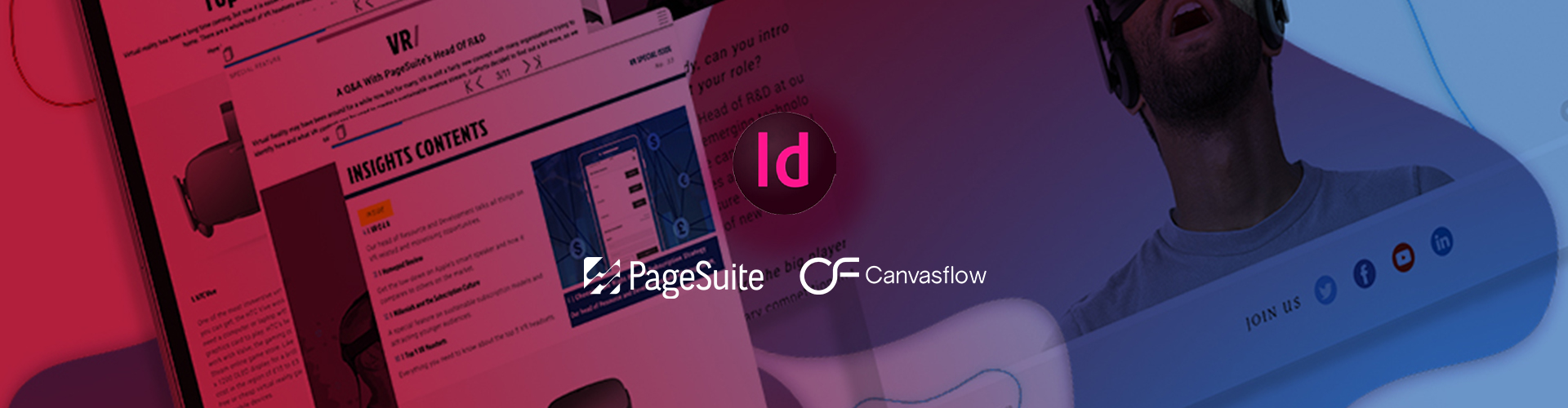 Header image of WEBINAR: Driving engagement:  From InDesign to responsive mobile editions