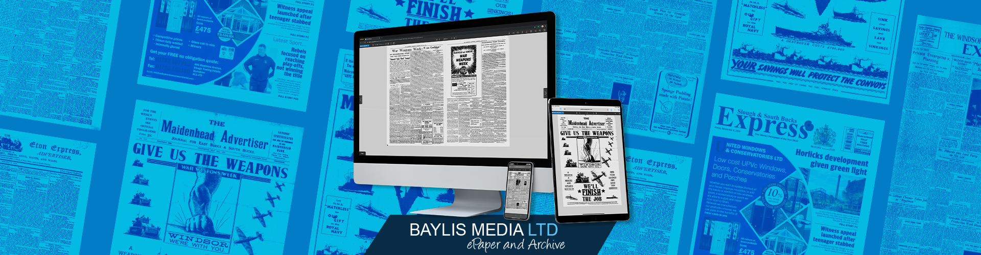 Image of Baylis Media Ltd Launch a 200-Year Digital Archive with PageSuite