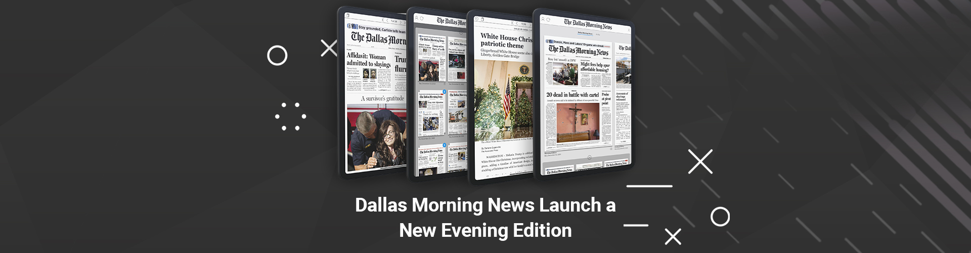Header image of Dallas Morning News Bring Back their Evening Edition…