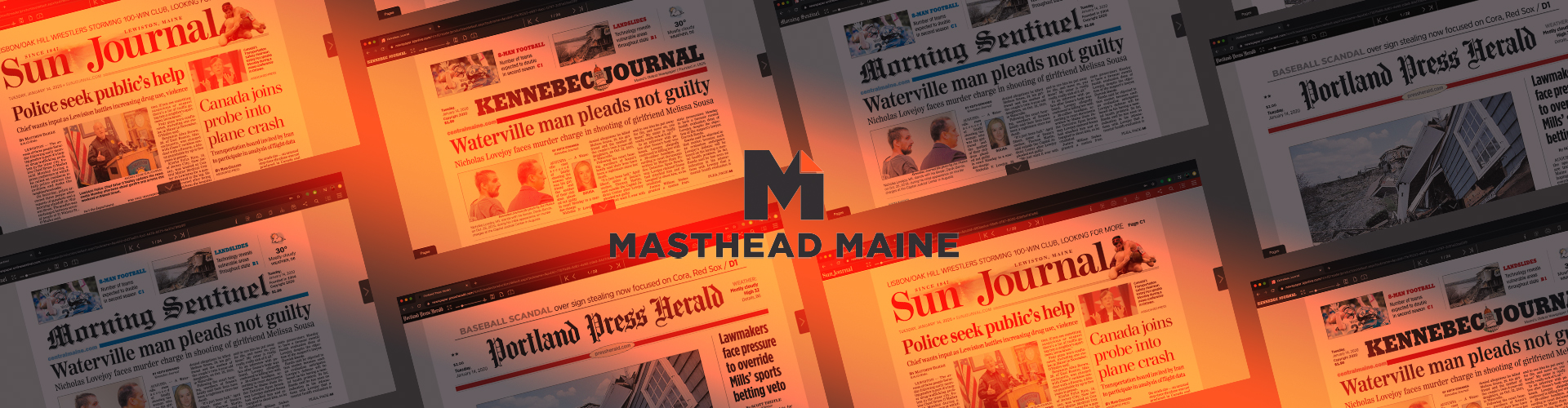 Image of Press Release: Masthead Maine Launch Replica Web & App Solutions with PageSuite