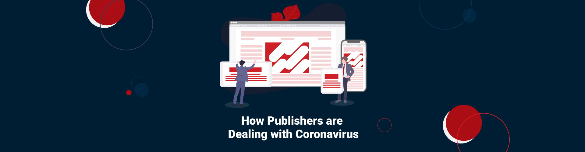 Header image of How Publishers are Dealing with Coronavirus