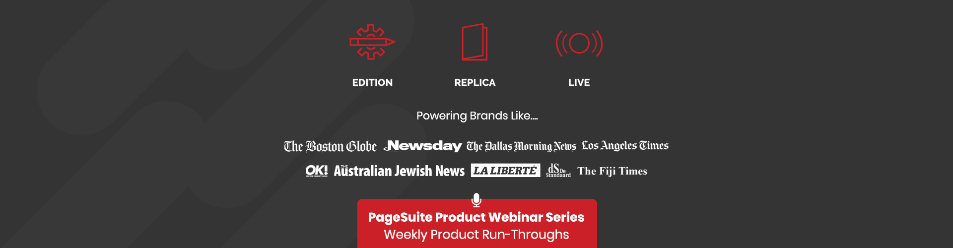 Image of Product Webinar Series
