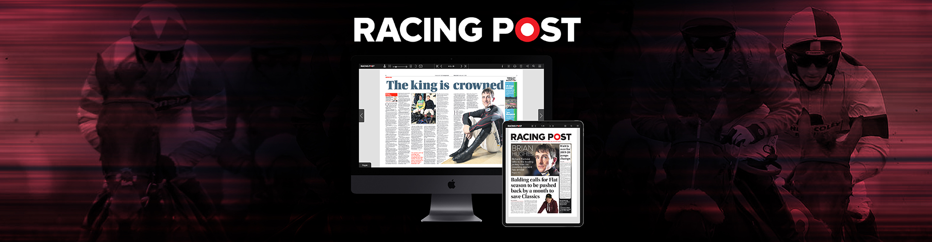 Header image of Racing Post Launch Digital-Only Newspaper with PageSuite
