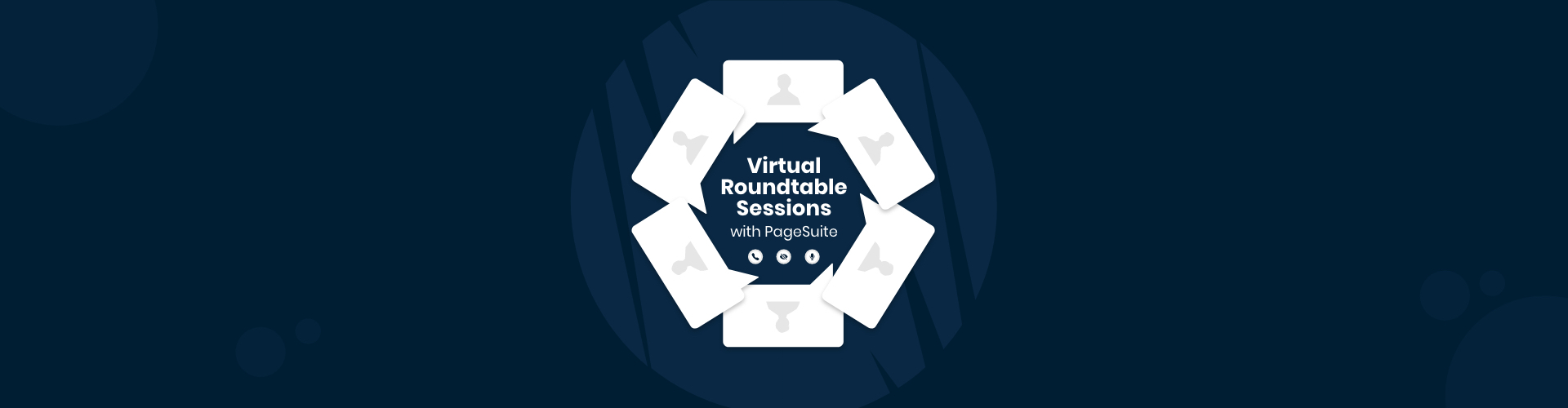 Header image of Virtual Roundtable Sessions with PageSuite