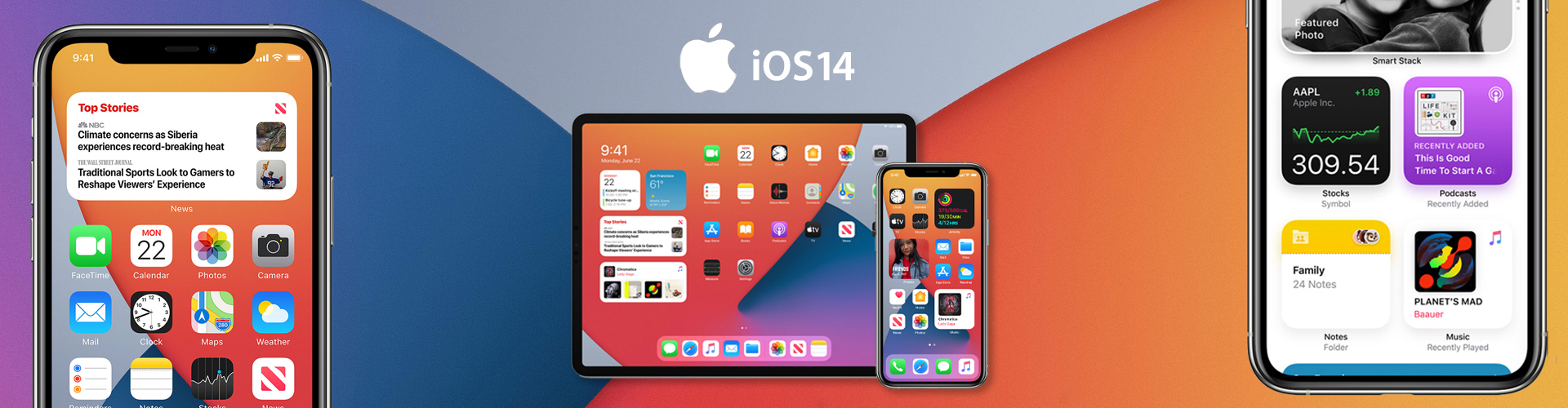Header image of iOS 14 – What's New?