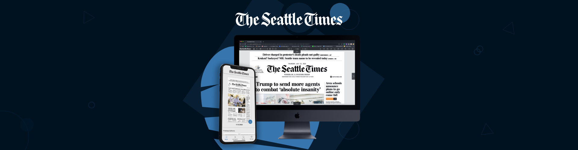 Image of The Seattle Times Launch on PageSuite's Edition Platform