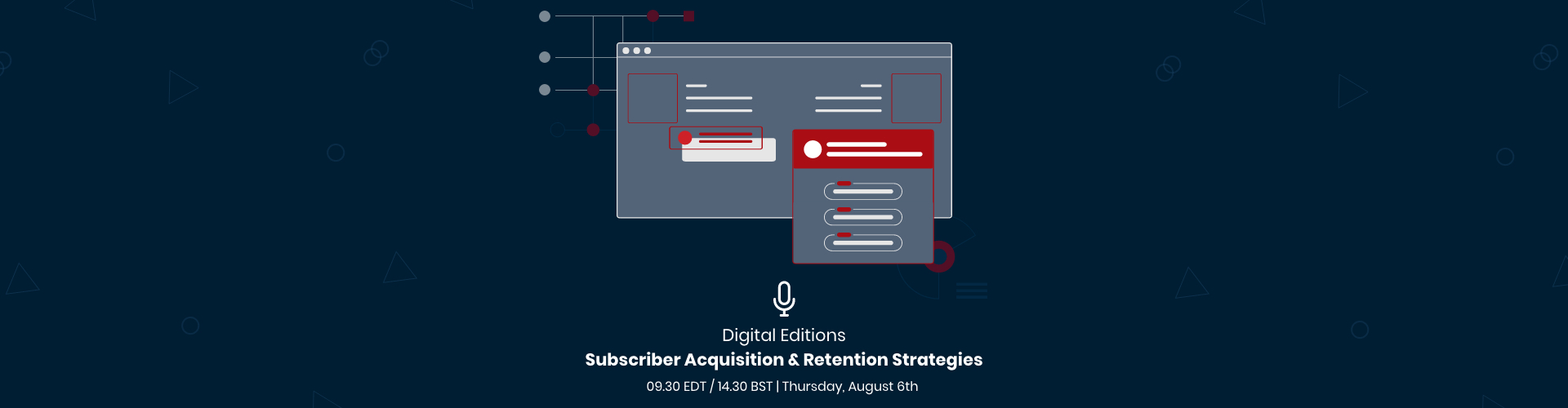 Image of Webinar: Digital Editions: Subscriber Acquisition & Retention Strategies