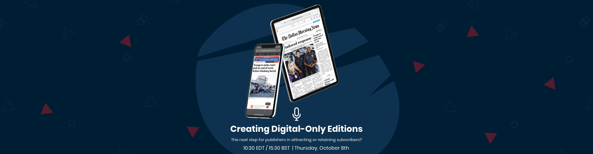 Header image of Webinar: Creating Digital-Only Editions
