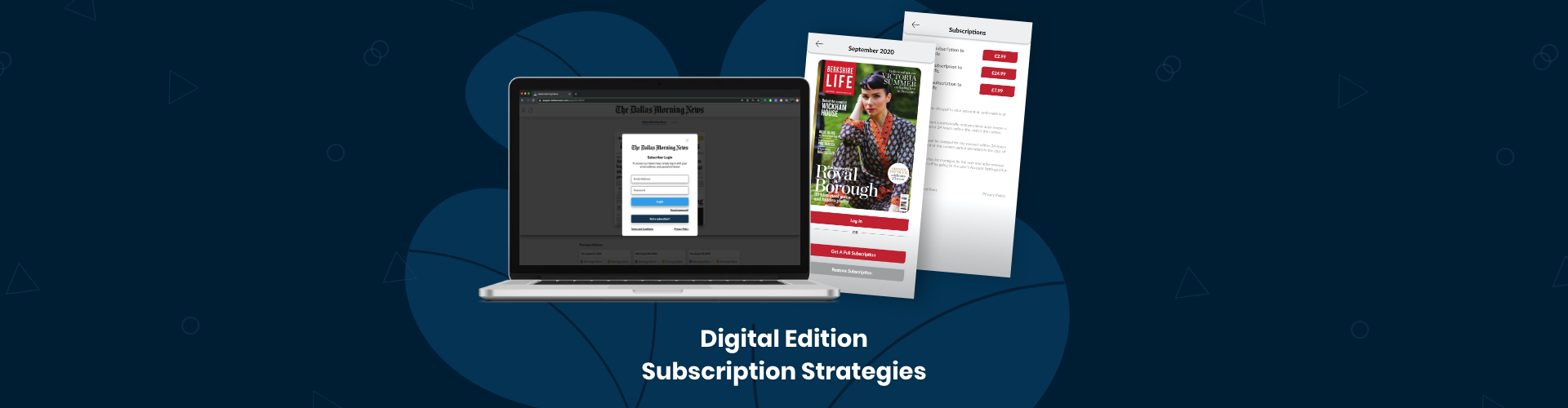 Digital Edition Subscription Strategies
