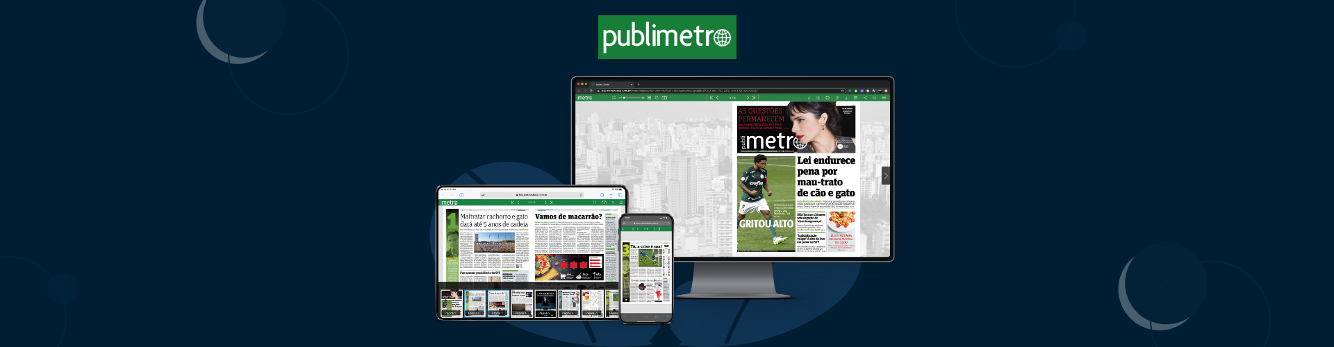 Image of PageSuite and Metro Jornal São Paulo Collaborate on New Digital Strategy
