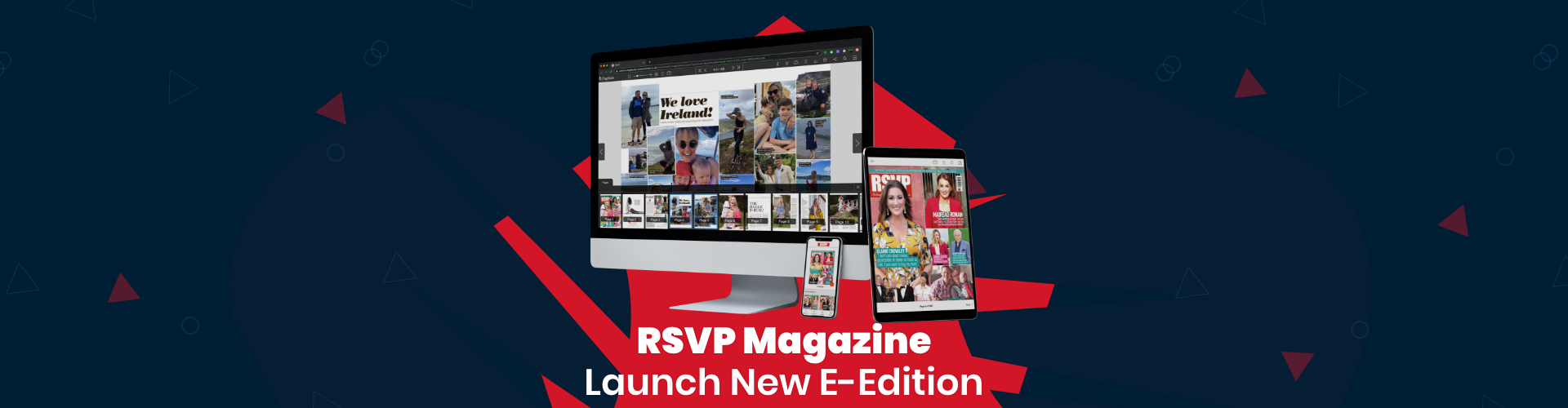 Header image of PageSuite Launch New E-Edition for RSVP Magazine
