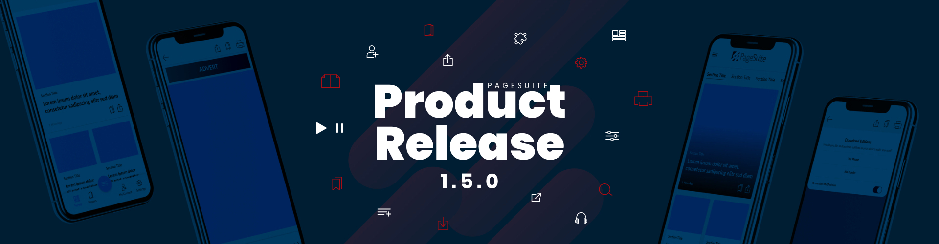 Header image of Product Release Notes – 1.5