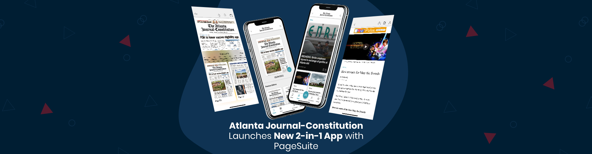 Image of Press Release: Atlanta Journal-Constitution Launches New 2-in-1 App with PageSuite