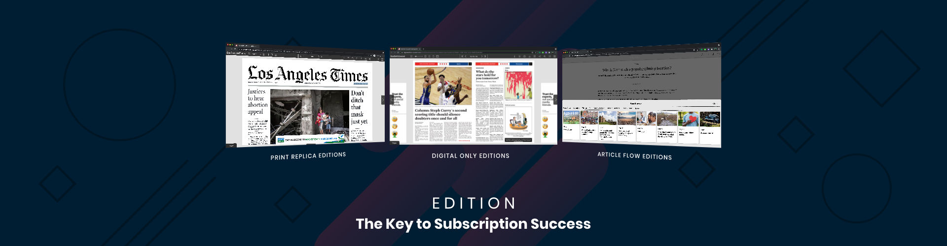 Header image of Edition – The Key to Subscription Success